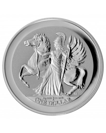 British Virgin Island 2017  PEGASUS  Silber 1 oz