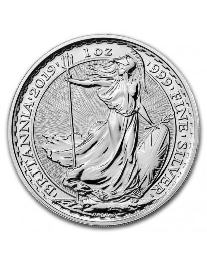Großbritannien 2019  Britannia  Silber 1 oz