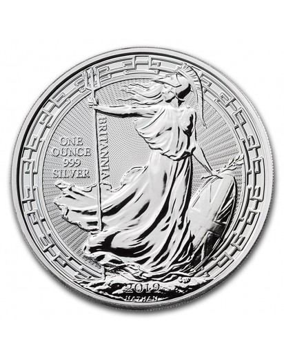 Großbritannien 2019    Oriental Border  Britannia    Silber 1 oz