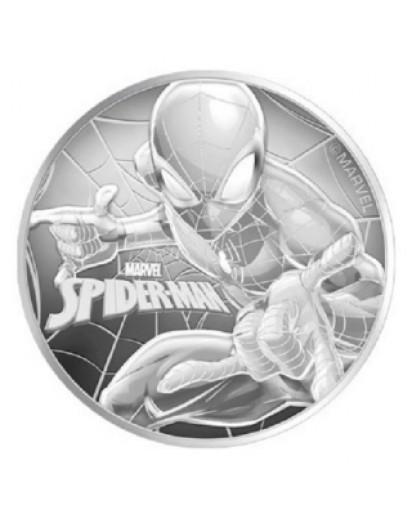 Tuvalu 2017  Marvel Spiderman Silber 1 oz