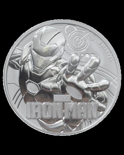Tuvalu 2018  Marvel   Ironman   Silber 1 oz