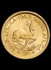 Südafrika Goldmünze 2 Rand