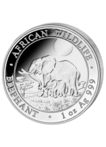 Elefant 2011 Somalia 1 oz Silber