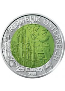 Österreich 2008  NIOB 25 €  Faszination Licht