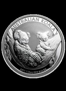 Australien 2011 Koala Silber 1/2 oz