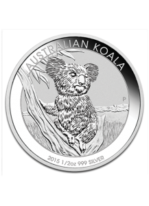 Australien 2015  Koala Silber 1/2 oz