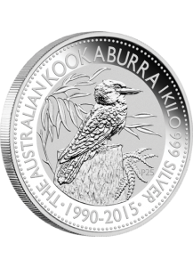 Australien 2015 Kookaburra  Silber 1 Kilo