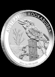 Kookaburra  2016 Silber 1 oz