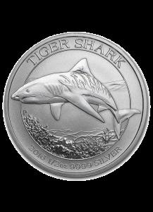 Australien 2016 Tigerhai - Tiger Shark Silber 1/2 oz