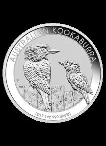 Australien 2017  Kookaburra Silber 1 oz