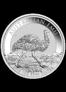 Australien 2018  EMU  Silber 1 oz