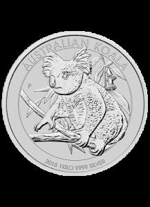 Australien 2018  Koala  1 Kilo  Silber