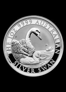 Australien 2019  Schwan swan Silber 1 oz
