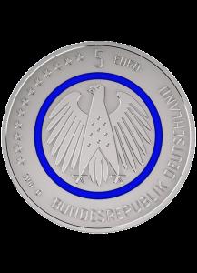 BRD 2016 Planet Erde 5 € st    Prägestätte J = Hamburg