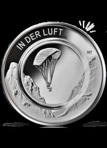 BRD 2019  IN DER LUFT - A  st - mit transparentem Polymerring
