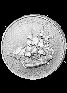 Cook Island 2018  Bounty  Silber 1 oz