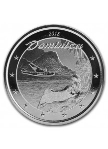 Dominica 2018  - The Nature isle 1 oz Silber