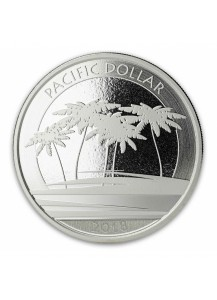 Fiji 2018 Pacific Dollar Silber 1 oz