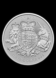 Großbritannien 2019  Royal Arms    1 oz Silber