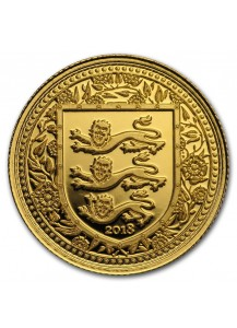 Gibraltar 2018   Royal Arms of England Gold 1/5 oz