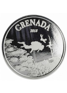 Grenada 2018  Diving Paradise - Tauchparadies EC8 Serie Silber 1 oz