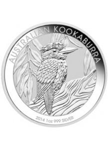 Kookaburra  2014 Silber 1 oz