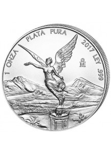 Mexiko 2017 Libertad Silber 1 oz