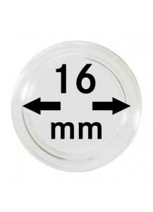 MÜNZKAPSELN  INNEN-Ø   16 mm    10er Packung