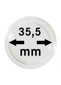 MÜNZKAPSELN  INNEN-Ø   35,5 mm    10er Packung