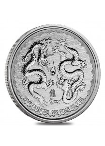 Niue 2018  Double Dragon  Silber 5 oz