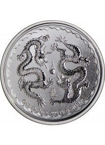 Niue 2018  Double Dragon  Silber 1 oz