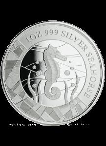 Samoa 2018  Seepferdchen - Seahorse  Silber 1 oz