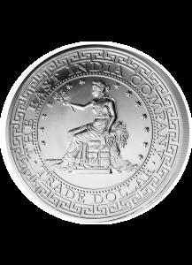 St. Helena 2018   US Trade Dollar Britannia Silber 1 oz