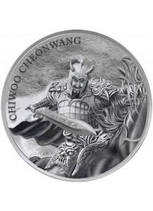 Südkorea 2018  Chiwoo Cheonwang Silber 1 oz