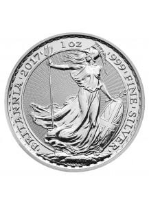 Britannia 2017  UK Großbritannien  Silber 1 oz