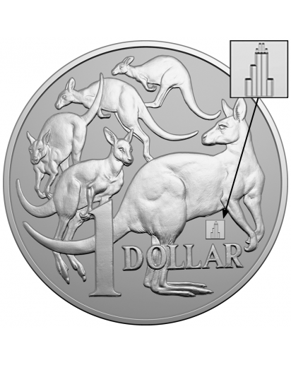 Australien 2019 MOB OF ROOS - Chicago Coin Show Special Silber 1 oz