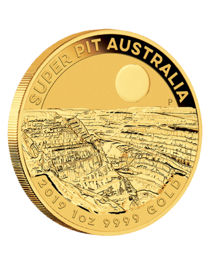 Australien 2019  SUPER PIT  Gold 1 oz