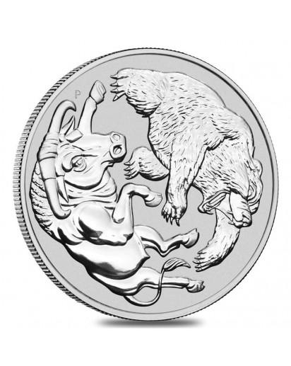 Australien 2020  BULL AND BEAR  Silber 1 oz