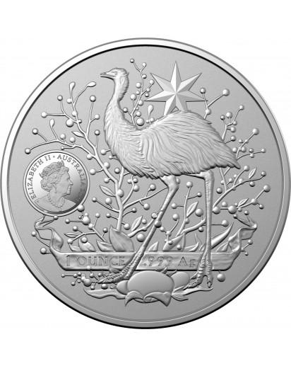 Australien 2021  Coat of Arms silber 1 oz