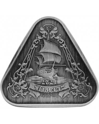 Australien 2021  ZEEWIJK  ANTIK FINISH  Schiffswrack Serie Silber 1 oz
