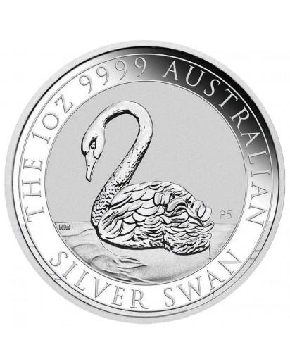 Australien 2021  Schwan swan Silber 1 oz