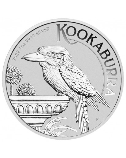 Australien 2022  Kookaburra Silber 1 oz