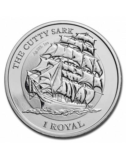 British Indian Ocean Territory 2021  CUTTY SARK  Silber 1 oz  BIOT