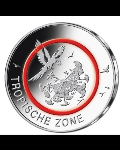 BRD 2017 Tropische Zone 5 € st Prägestätte Berlin = A