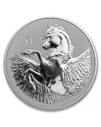 British Virgin Island 2021  PEGASUS  Silber 1 oz