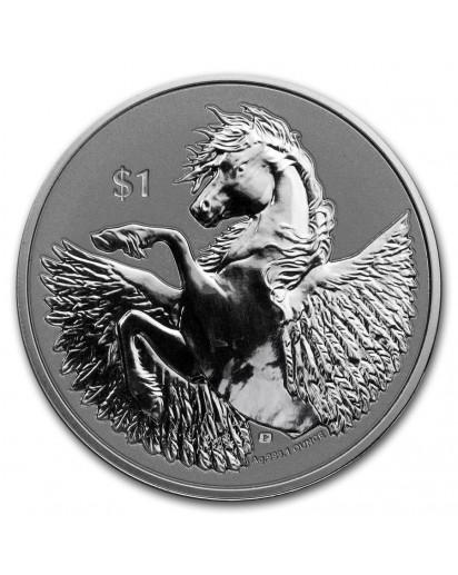 British Virgin Island 2020  PEGASUS  Silber 1 oz