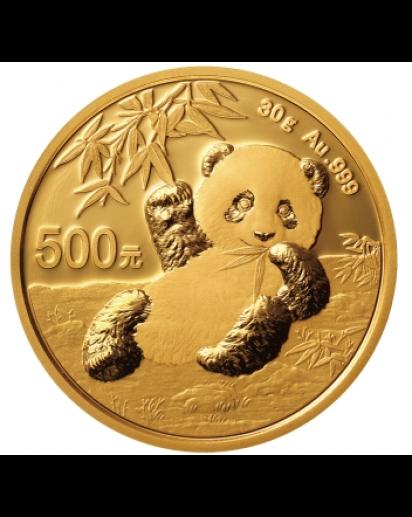 China 2020  Panda    Gold 30 g
