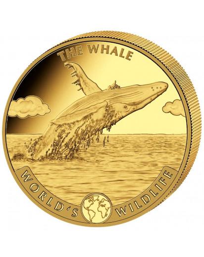 Congo 2020   WAL - World`s Wildlife Serie Gold 1 oz Kongo