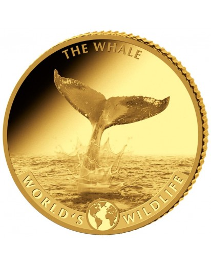 Congo 2020   WAL - World`s Wildlife Serie Gold 0,5 g PP Kongo
