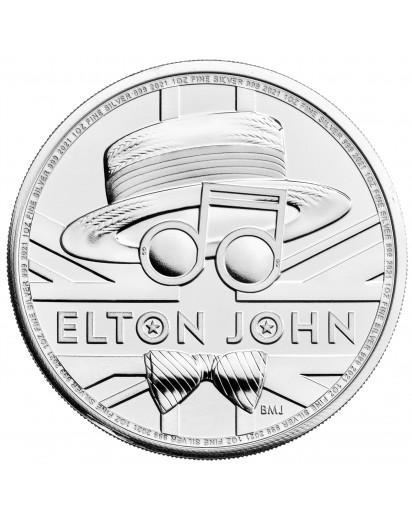 GB 2020  Elton John Music Legends  Silber 1 oz